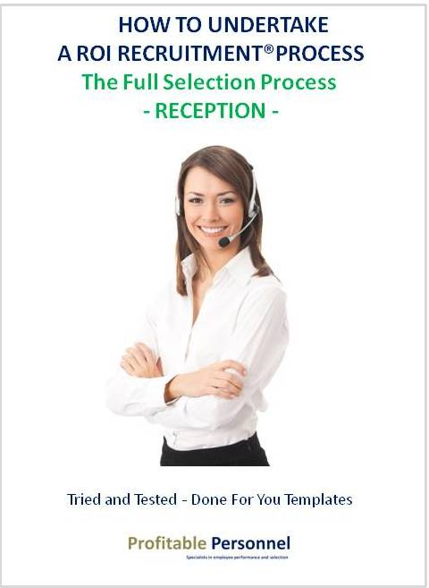 How to hire a Receptionist who will provide you a return on investment