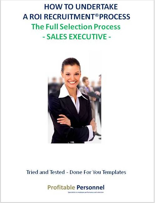 How to hire a Sales Executive who will provide you a return on investment